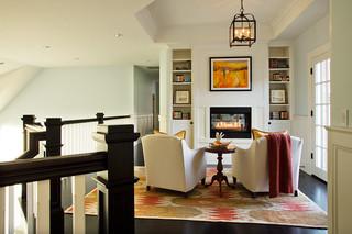 现代北欧风格四房以上舒适白色室内效果图