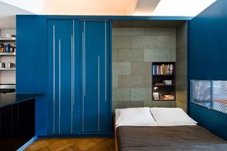 宜家风格客厅2013二居室简洁白色橱柜4平米卧室装修图片