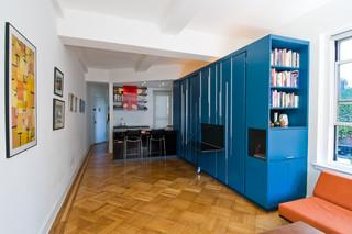 宜家风格二居室装饰简洁白色欧式家具设计图