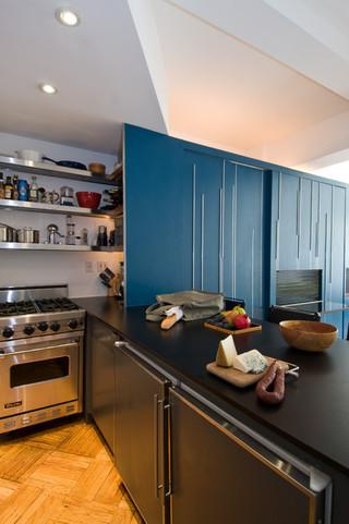 宜家风格二居室装饰现代简洁白色室内效果图