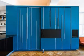 宜家风格2013二居室客厅简洁白色家具装修图片