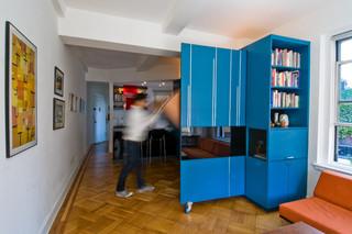 宜家风格客厅二居室现代简洁白色欧式家具设计图