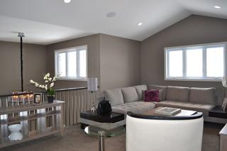 宜家风格客厅小型公寓客厅简洁原木色设计图