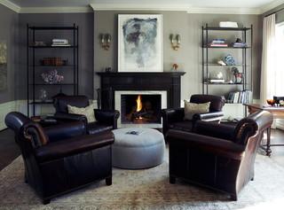 欧式风格客厅2013二居室稳重咖啡色15平米客厅设计