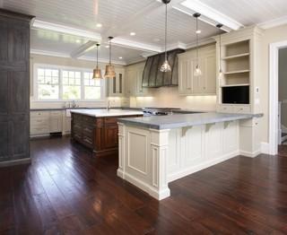 欧式风格卧室三层双拼别墅简洁卧室灰色窗帘4平米小厨房效果图