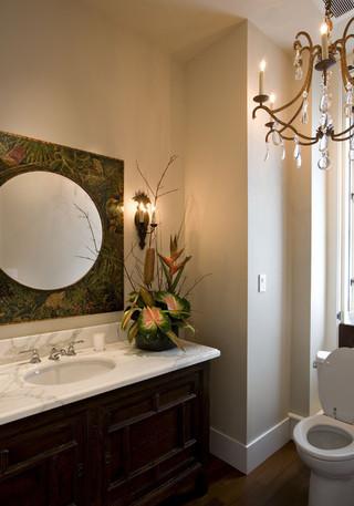 混搭风格客厅三层半别墅豪华型140平米以上主卫生间效果图