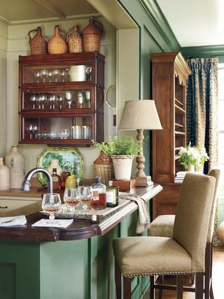欧式风格200平米别墅富裕型客厅和餐厅的效果图
