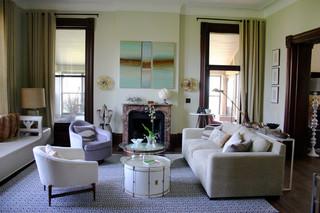 复式富裕型140平米以上2013现代客厅效果图