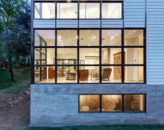 一层半小别墅富裕型140平米以上露台花园装修效果图