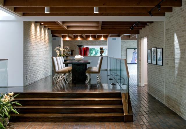 一层别墅富裕型140平米以上门厅灯池装修效果图