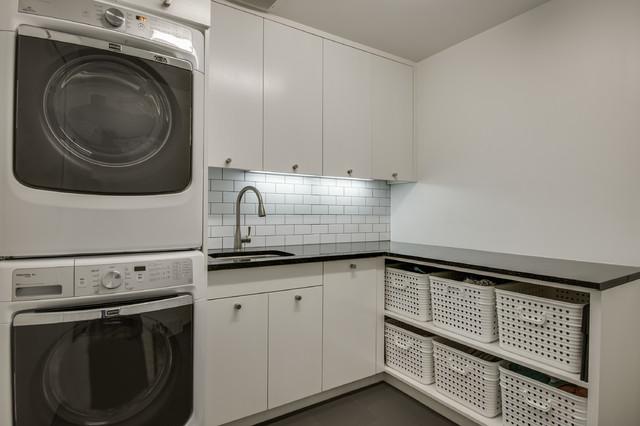 现代简约风格客厅富裕型140平米以上2平米卫生间效果图