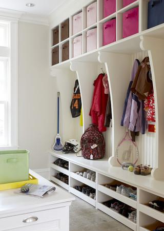 中式简约风格一层半小别墅富裕型140平米以上卧室带衣帽间装修