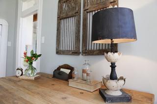 北欧风格卧室小复式房艺术台灯图片