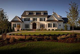 房间欧式风格一层半小别墅欧式奢华进门入户花园设计图纸