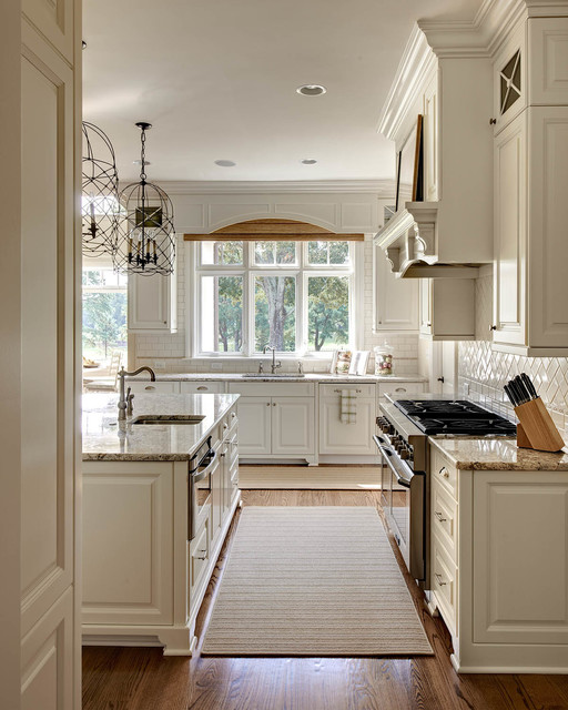 房间欧式风格三层独栋别墅欧式奢华开放式厨房装潢