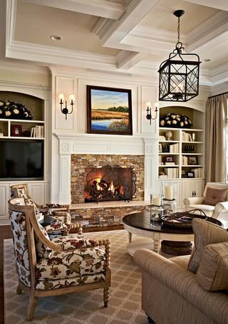 房间欧式风格一层别墅及奢华客厅沙发摆放效果图