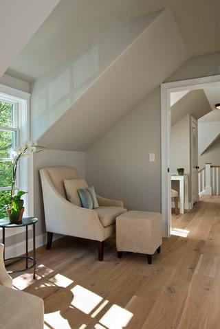 北欧风格卧室复式客厅装饰简单温馨单人沙发床图片