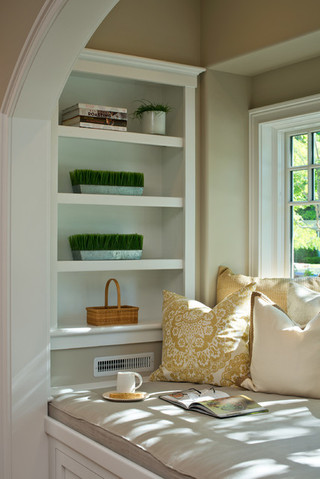 北欧风格复式客厅温馨卧室折叠沙发床图片