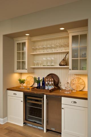 北欧风格复式住宅卧室温馨酒柜吧台装修效果图