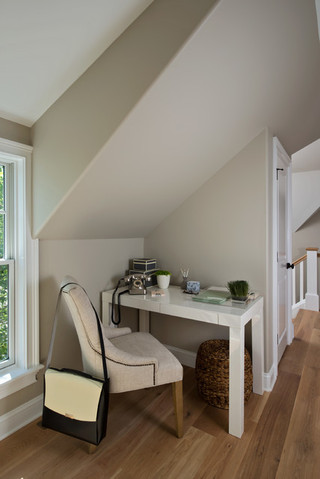 北欧风格卧室50平复式温馨卧室客厅走廊吊顶效果图