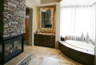 现代简约风格客厅四房以上20万以上130平米三室两厅主卫生间效果图