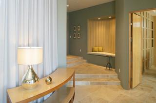 现代简约风格餐厅四房以上20万以上130平米家庭家装走廊吊顶装修效果图