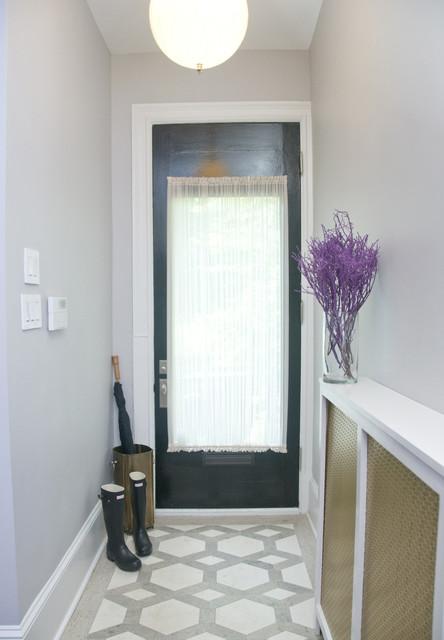 简欧风格家具卧室复式富裕型140平米以上客厅进门玄关设计图