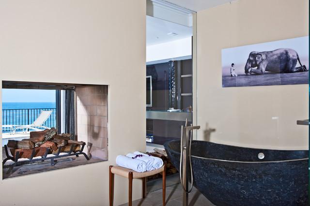 现代简约风格餐厅一层别墅及稳重咖啡色4平卫生间效果图