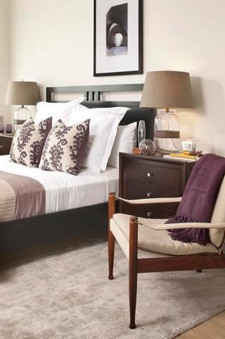 现代简约风格厨房复式客厅装饰小清新白色欧式家具床头柜图片