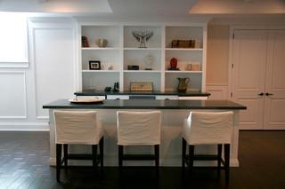 美式风格卧室50平复式舒适白色室内红木餐桌效果图