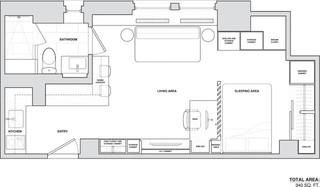 日式风格37平米小清新白色家居效果图