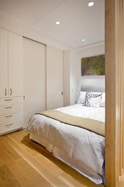 日式风格卧室30平方小清新白色客厅儿童房高低床效果图