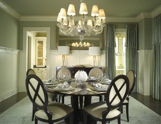 美式风格卧室2013别墅及低调奢华米色地中海餐厅效果图