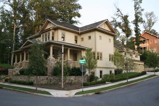美式风格300平别墅奢华米色装修效果图