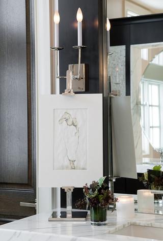 一层半小别墅现代奢华咖啡色装修效果图
