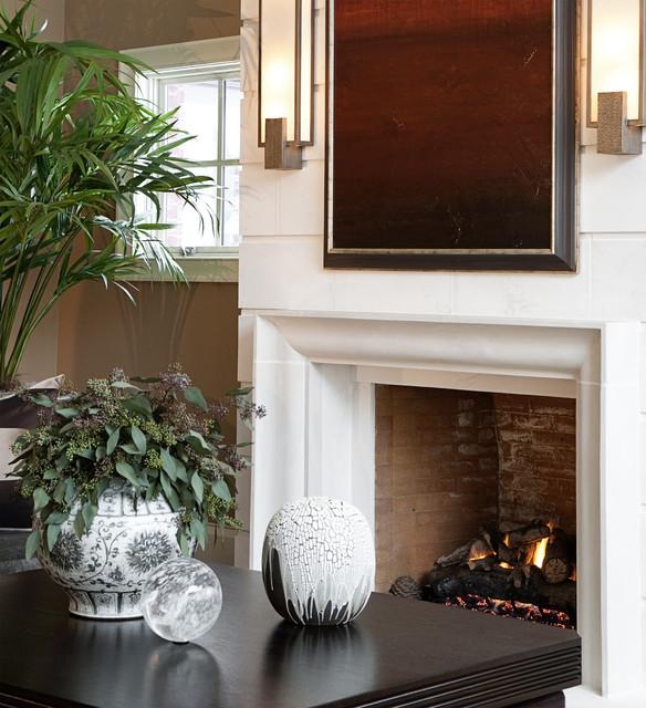 一层别墅及低调奢华咖啡色装修图片