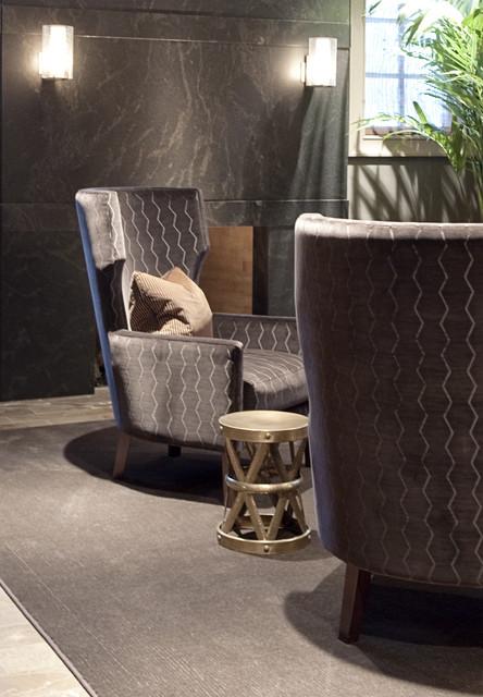 2013年别墅现代奢华咖啡色效果图