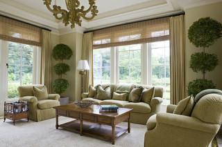 欧式风格300平别墅实用客厅原木色名牌布艺沙发图片