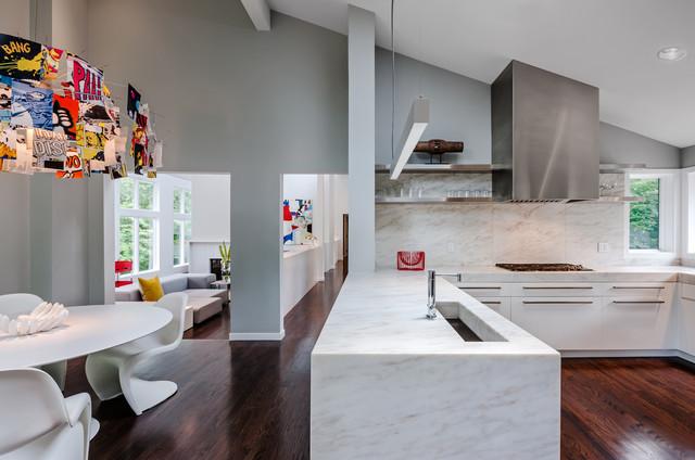 简约风格卧室三层独栋别墅大气黑白卫生间2013家装厨房效果图