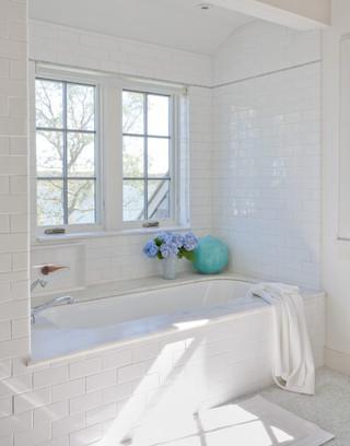 田园风格一层别墅及浪漫卧室白色欧式家具3平方米卫生间装修图片