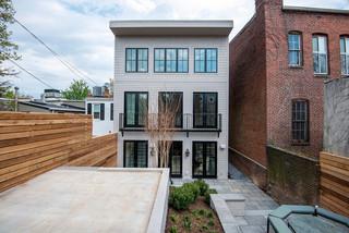 新古典风格客厅三层双拼别墅浪漫卧室白色简欧风格装修效果图