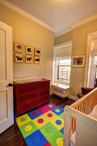 现代欧式风格2层别墅舒适白色卧室儿童房装修效果装修效果图