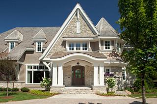 古堡式稳重家庭别墅