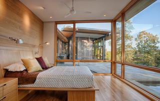 宜家风格客厅一层半别墅时尚家居原木色4平米卧室装修效果图