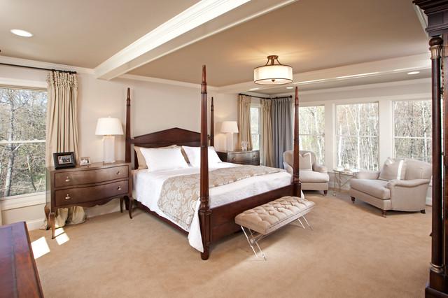 美式风格2013年别墅舒适原木色家居2012卧室装修效果图
