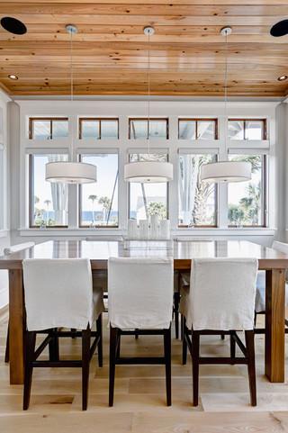 现代简约风格客厅三层独栋别墅豪华房子白色橱柜厨房餐厅一体设计图纸