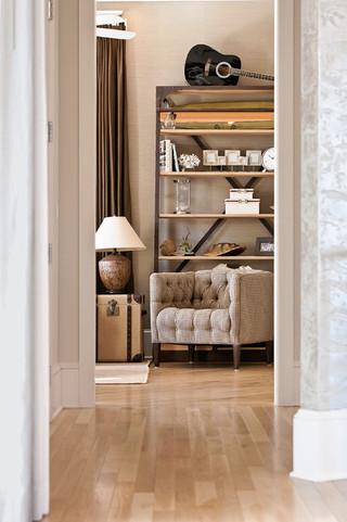现代简约风格卧室三层独栋别墅豪华房子白色厨房装修图片