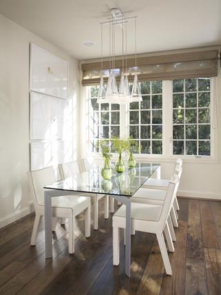 现代简约风格卫生间300平别墅时尚室内白色客厅和餐厅的效果图