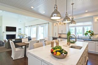 现代简约风格卧室三层独栋别墅大方简洁客厅白色门2012厨房装修效果图