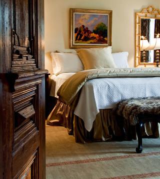 美式风格卧室三层别墅豪华室内咖啡色10平卧室效果图